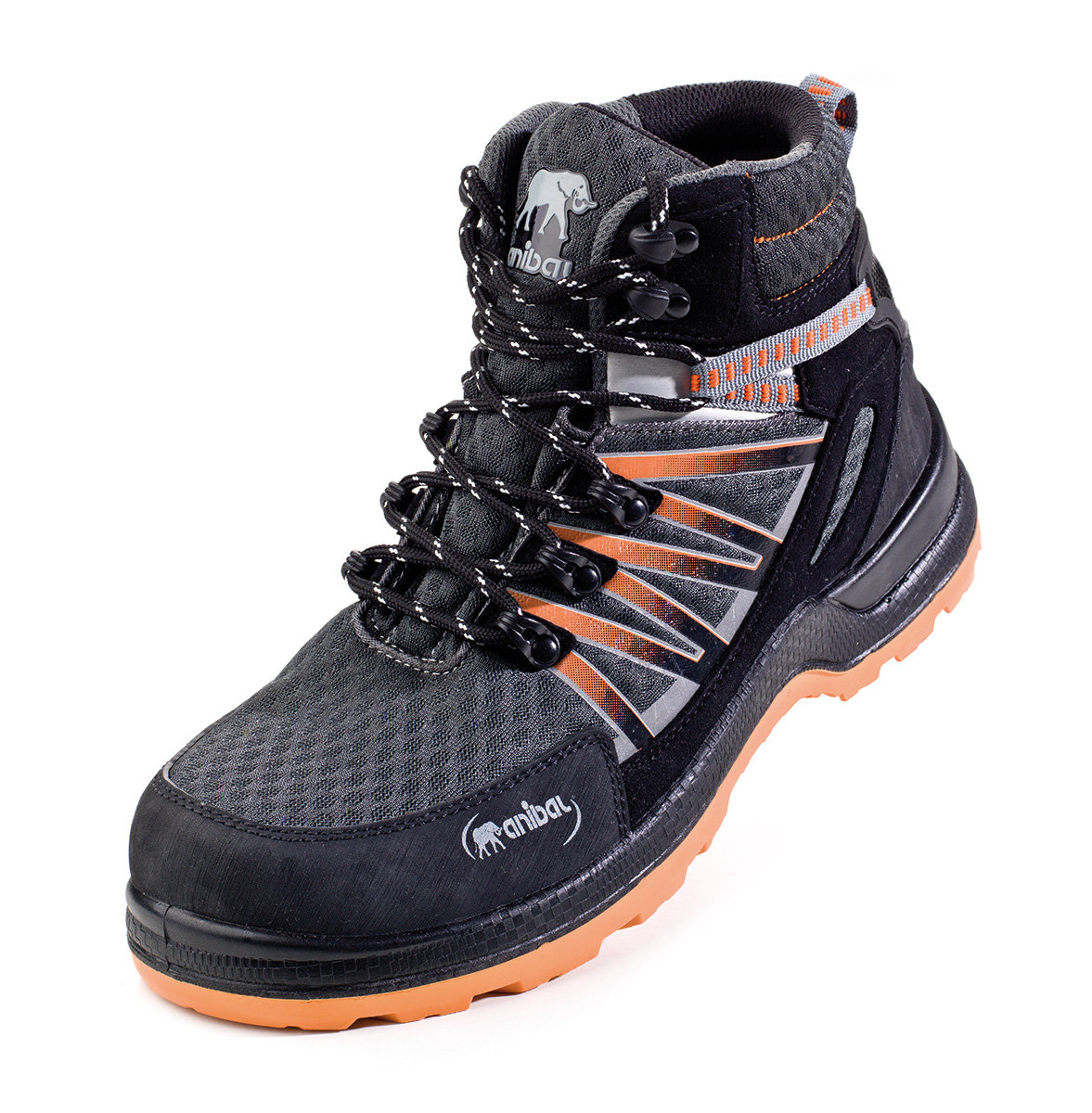 """9e1de4a2881 1688-BTT Calzado de Seguridad Sporty Trekking Metal Free Bota mod. """"TROYA"""""""