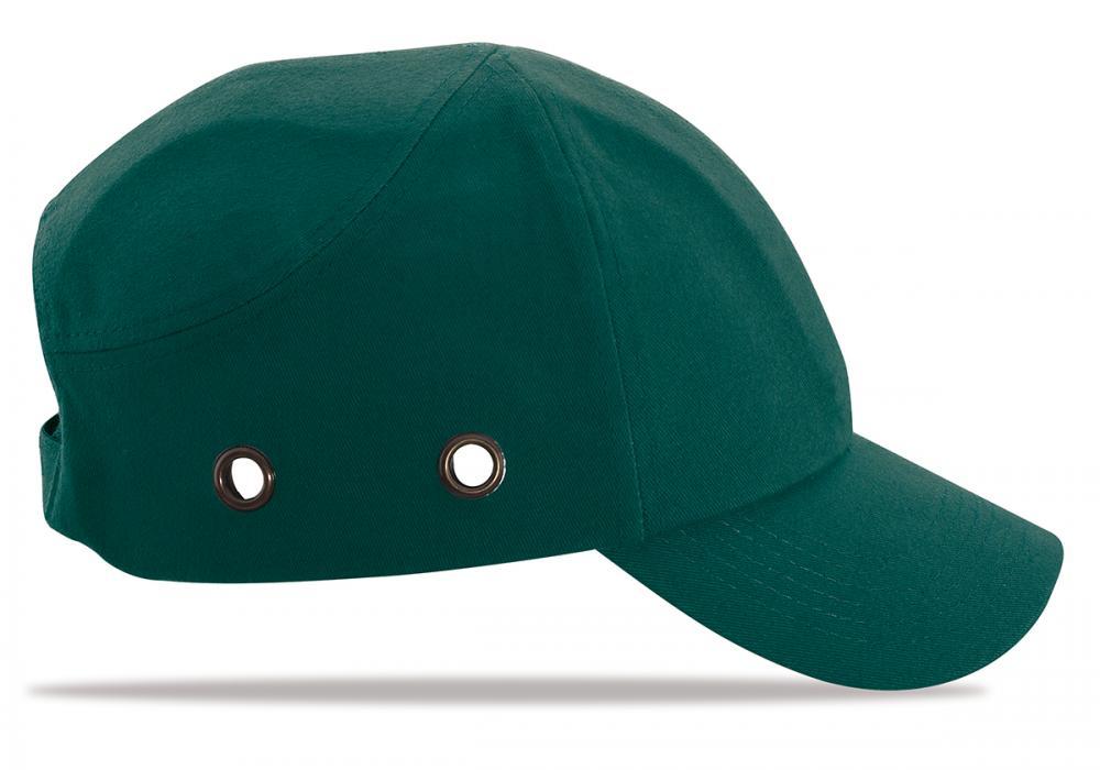 2088-GP V Protección Cabeza Gorras Antigolpe Color Verde. Mod. 0315a3a0689