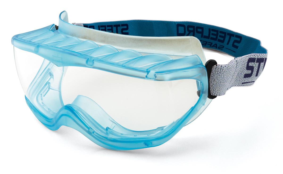 ... acetato claro con tratamento anti-embaciante e ventilação... 2188-GIX6.  Steelpro. 2188-GISRX Protecção Ocular Oculos armadura integral - Linha Pro  Mod. 43125d32d0