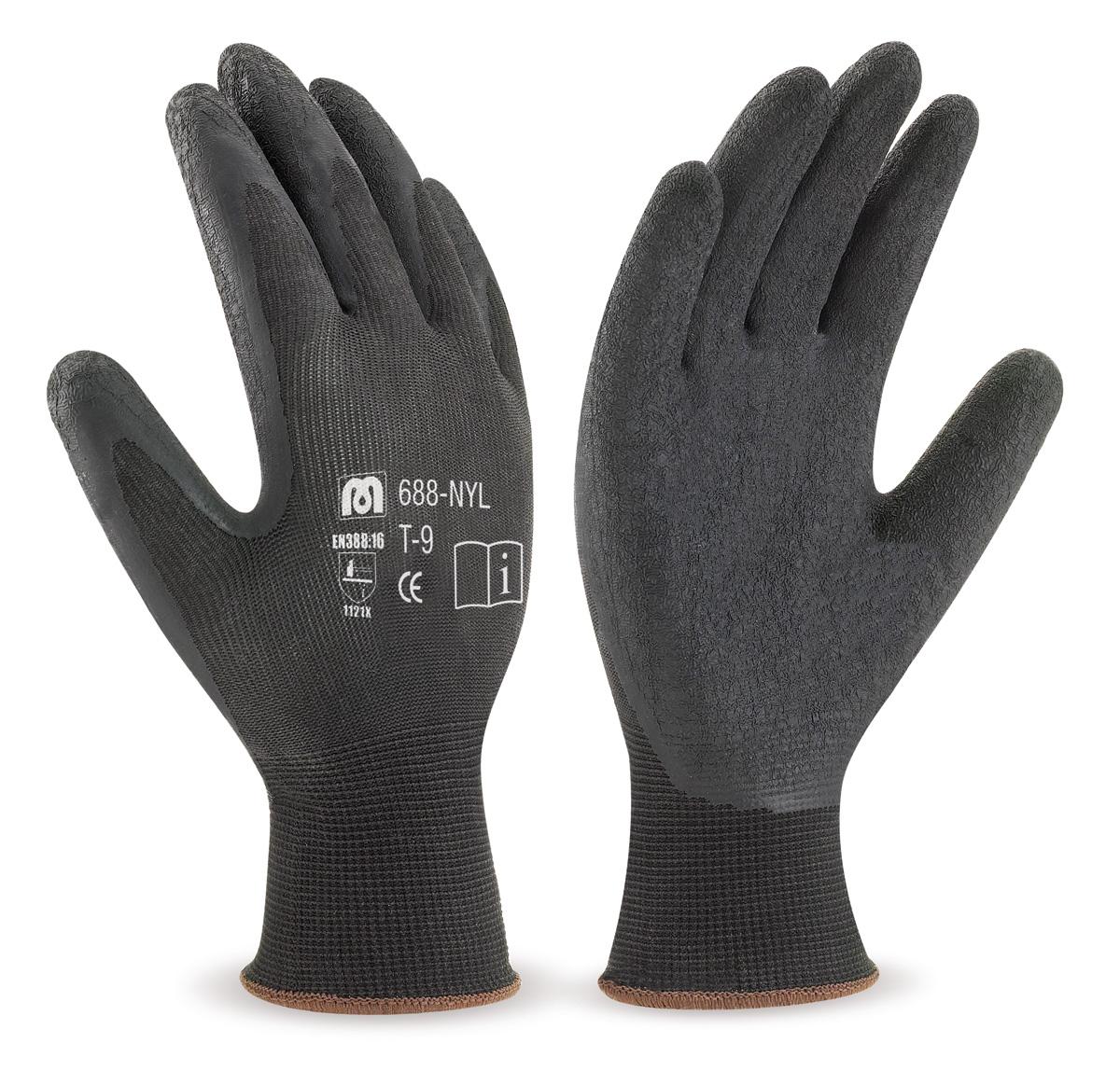 productos guantes de trabajo nylon ref 688 nyl
