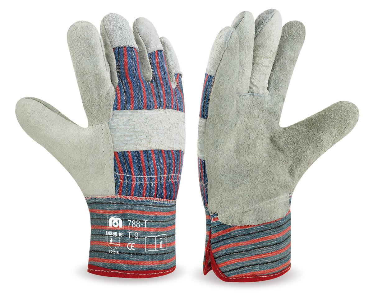 Productos guantes de trabajo americanos piel y lona for Guantes de piel madrid